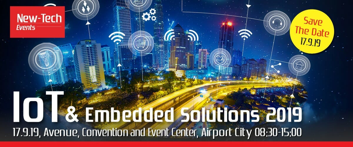 Save The Date – IOT & Embedded Solutions 2019